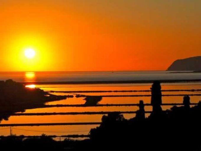 coucher de soleil las Salinas Ibiza