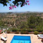 Villa de luxe avec piscine Ibiza vue mer