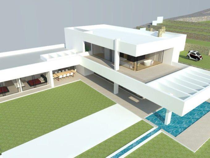 Terrain projet construction Ibiza