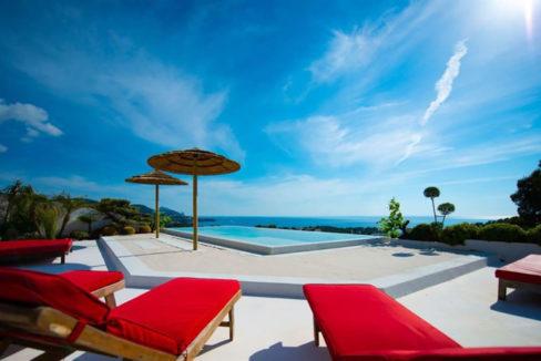 Villa de luxe avec piscine à vendre Ibiza