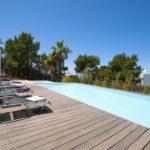 Villa avec piscine vue mer Ibiza