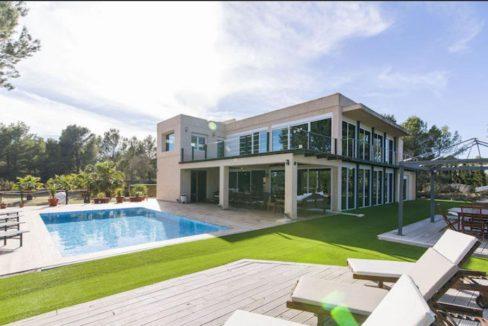 Villa Cala Jondal Piscine