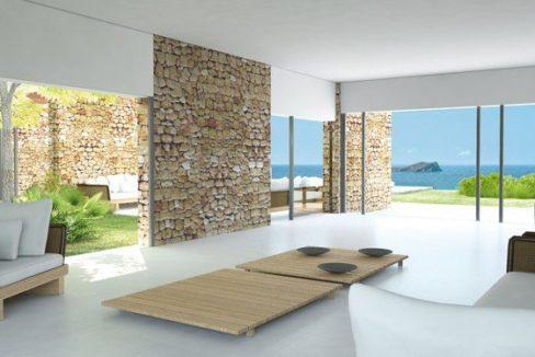 Villa ultra moderne piscine vue mer Ibiza