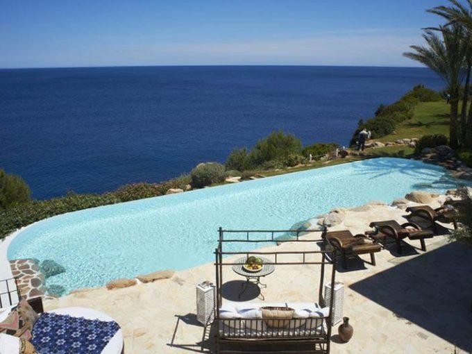 Villa de luxe à vendre Ibiza Piscine et vue mer