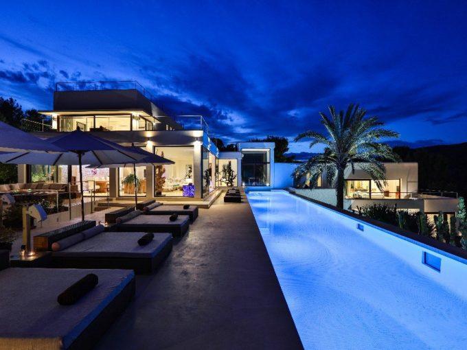 Villa de luxe à louer Ibiza avec piscine