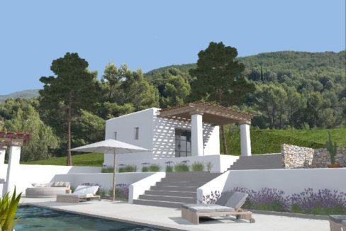 Finca à rénover projet Balkstad Ibiza