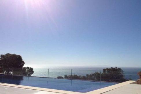 Ibiza, villa vue mer avec piscine