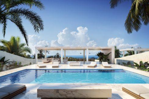 Ibiza à vendre villa vue mer avec piscine