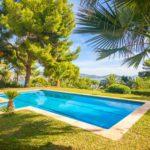 villa à vendre à Es Cubells Ibiza mer avec piscine